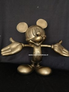 Mickey Mouse Definitive Big Fig Repaint - 44cm High - Disney Mickey Mouse Sculpture New No Box