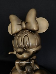 Minnie Mouse Definitive Big Fig Statue Repaint - 45cm High - Walt Disney Minnie sculpture decoration