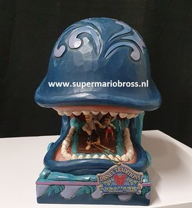 Monstro Gepetto and Pinnochio - a Whale of a Whale Jim Shore Disney Traditions Big Fig New Boxed