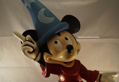 Mickey Fantasia Soceror apprentice - Mickey met Toverhoed 6ocm groot - Walt Disney Mickey Tovenaar BOXED