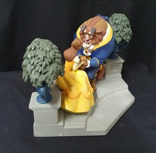 Happy Here Beauty and the Beast Enesco Figurine - Disney Enchanting Collection 2020 New boxed