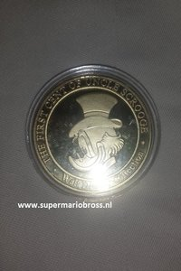 Walt Disney Collection The First Cent Of Uncle Scrooge  - Walt Disney Dagobert Duck Eerste cent Muntstuk Limited Pieces