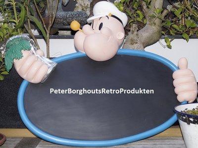 Popeye Menu Board - Menuborden Krijtborden - Original KFS Popeye Krijtbord 80x70cm Boxed