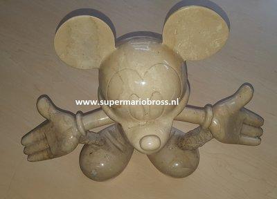 Mickey Mouse Creation Limited Edition, Geboorte van Mickey Mouse uitgehouwen in Marmer 3 Beelden Set