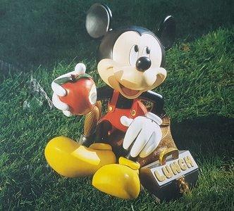 Mickey Mouse Tea Break - 30 cm groot nieuw staat - Disney Mickey T Break Beeld, Boxed