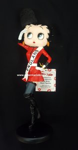 Betty Boop Costume England New in Box - Betty Boop England Dekoratiebeeldje Nieuw