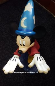Mickey Mouse Socerer on WaveWalt Disney Mickey Mouse Big Statue Used with Light