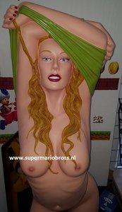 SEXY LADY RACHEL - Rachel Pinup Statue 6 Ft High - Erotisch Beeld Rare