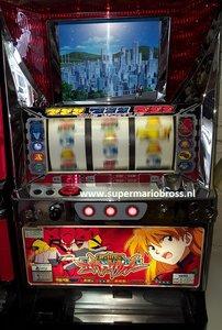 Evangelion Pashiclo -Game Machine - Japanse Skill Stop Slotmachine Used