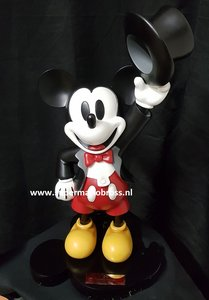 Disney Mickey Mouse Toxedo Master Craft Statue With Base 90th Anniversary 47cm Boxed