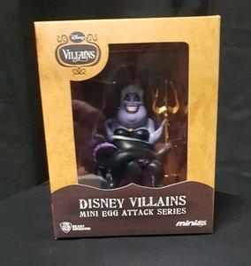 Disney Villians Ursula Mini Egg Attack Series Beast Kingdom Collectible New Boxed