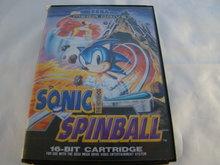 Sonic the hedgehog Spinball - Sega Mega Drive Game  Compleet