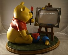 Winnie the Pooh with Photo Frame - Dekoratie beeld
