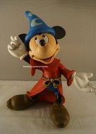 Mickey Mouse Phantasia met Toverhoed 3o cm groot nieuw staat