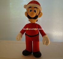 LUIGI Kerst Pvc Action Figure - 22 cm groot - Supermariobross Figuren