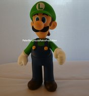 LUIGI Pvc Action Figure 22 cm - Supermariobross Figuren