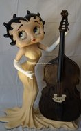 Betty Boop Musician - Decoratie beelden