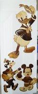 Donald Duck - Goofy en Mickey Mouse - Houtsnijwerk