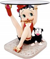 Betty Boop with Pudgy Table