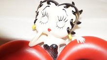 Betty Boop Mirror - Used Heart Mirror