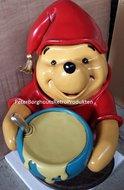 Winnie The Pooh Waiter - Wiinie The Pooh Ober - Nieuw - Decoratie Beeld