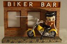 Biker Bar Betty Boop Photoframe Fotolijst