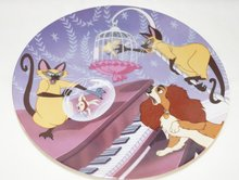 Lady & The Tramp Double Siamese Trouble - Collector Plate Lady And The Tramp