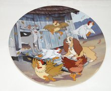 Lady & The Tramp Ruff - House - Collector Plate Lady en de Vagabond