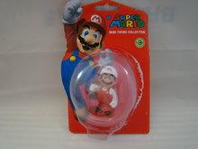 Fire Mario 7 cm groot in orginele verpakking ,