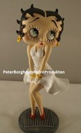 Betty Boop als Marilyn Monroe Look - Betty Boop 40 cm hoog - BB decoratie