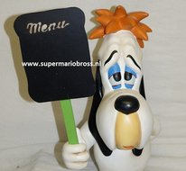 Droopy with Menubord - Droopy 45 cm Polyester Decoratie Beeld