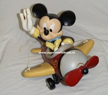 Mickey in Airplane - Disney Mickey Mouse in vliegtuig - Disney Rare - Boxed