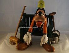 Goofy On Bench - Goofy op Bankje - Decoratie Beeldje