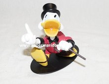 Uncle Scrooge 13 cm hoog - Disney Dagobert Duck New in Box