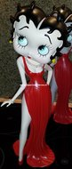 Betty Boop in Gala Jurk Dress - Betty Boop in Gala Jurk 40 cm Nieuw Beschadigd Boxed