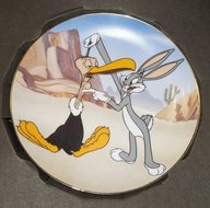 WB looney Tunes Bugs Bunny Gets The Boid Gallery Collectors Edition Plate Boxed
