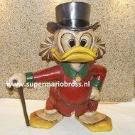 Disney Scrooge Mc Duck 60 cm Tall Statue Figurine - Dagobert Duck Figurine Standing