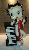 Betty Boop Cd Holder - Betty  CD Tower Statue BB Decoratie beeld