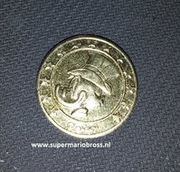 Scrooge Mc Duck Gold Coin - Disney Dagobert Duck 24 K 999 Gold Coin  - Geluksdubbeltje 1947 verguld