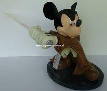 Mickey Mouse Jedi Star Wars Disney Big Figurine Boxed - Disney Star Wars Jedi Mickey Mouse