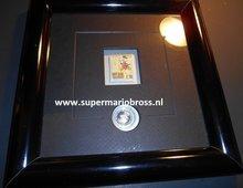 Dagobert Duck First Cent Framed  - Disney The First Cent Of Uncle Scrooge with Certificate of Authenticity