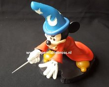 Disney Mickey Mouse Fantasia Apprentice Sorceror Light-Up figure Disney Park Boxed