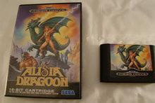 Alisia Dragoon - Sega Mega Drive Game No Booklet