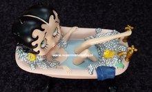 Betty Bath Tub Pink - Betty Boop In Bad - BB Cartoon Decoratiebeeldje 2015