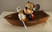 Mickey In Boat - nieuw staat