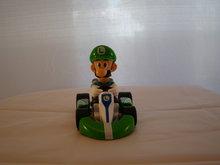 LUIGI KART FIGUUR 15 x 10 cm Groot - Luigi Pull back cart