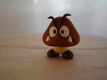GOOMBA 7 cm  Geen Vleugels - Super Mario Merchandise
