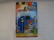 Telefoongadget in doosje - Mario met zwarte ster