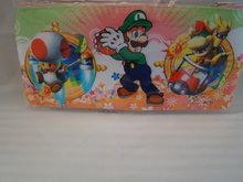 PENNEN MAPJE -  met mario en of Luigi afbeelding,