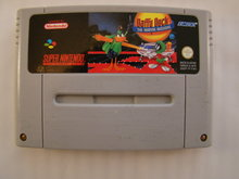 DAFFY DUCK, the marvin missions - Snes Game Cartridge